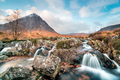 Waterfalls at Buachaille Etive Mor - PhotoDune Item for Sale