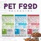 Pet Food Packaging - GraphicRiver Item for Sale
