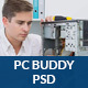 PcBuddy - Computer Repair PSD Template - ThemeForest Item for Sale