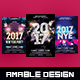 3 in 1 New Year Eve Flyer/Poster Bundle - GraphicRiver Item for Sale