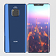 Huawei Mate 20 Pro Blue - 3DOcean Item for Sale