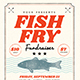 Fish Fry Flyer - GraphicRiver Item for Sale