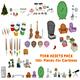 Cartoon Assets Pack - 3DOcean Item for Sale