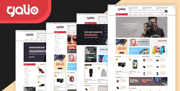 Galio - Electronics & Fashion Store HTML Template