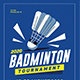 Badminton Tournament Event Flyer - GraphicRiver Item for Sale
