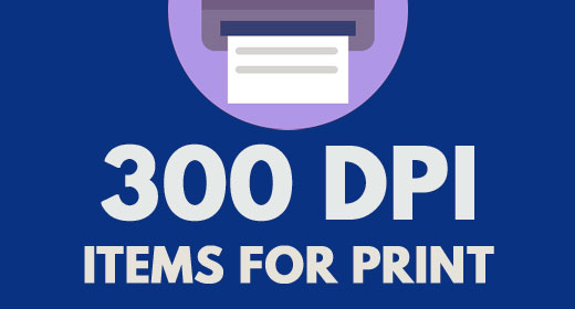 300 dpi Actions for Print