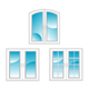 Plastic polymer windows - GraphicRiver Item for Sale