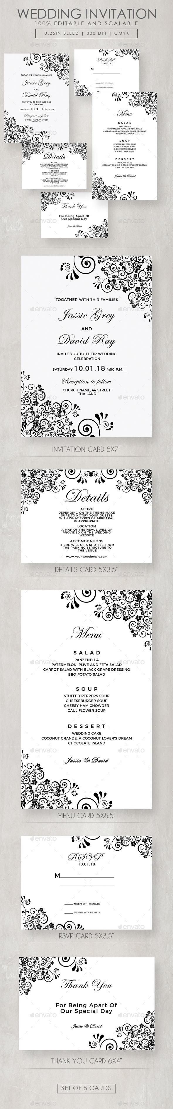 Wedding Invitation Templates From Graphicriver