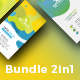 Bundle 4 Colorfull Business Card - GraphicRiver Item for Sale