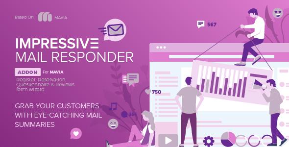 MAVIA | Impressive Mail Responder Addon - CodeCanyon Item for Sale