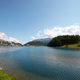 Sankt Moritz blue lake, clean water and sail boats in Switzerland - PhotoDune Item for Sale