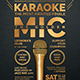 Karaoke Flyer Template V8 - GraphicRiver Item for Sale