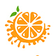 Orange Splash Logo - GraphicRiver Item for Sale