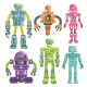 Robot and Android Character Collection - GraphicRiver Item for Sale