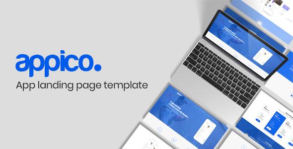 Appico | App Landing Page Template by AlexaTheme