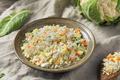 Raw Organic White Cauliflower Rice - PhotoDune Item for Sale