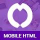 Overux Mobile Multipurpose - HTML Mobile App Template - ThemeForest Item for Sale
