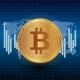 Bitcoin Stock Vector Illustration - GraphicRiver Item for Sale