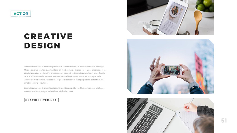 Action Multipurpose PowerPoint Template