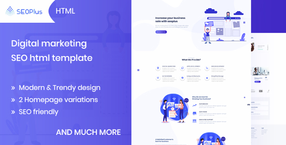 Seoplus Digital Marketing Seo Template Bootstrap4