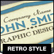 Retro Style Business Card Vol. 2 - GraphicRiver Item for Sale
