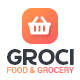 Groci - Organic Food & Grocery Market Template - ThemeForest Item for Sale