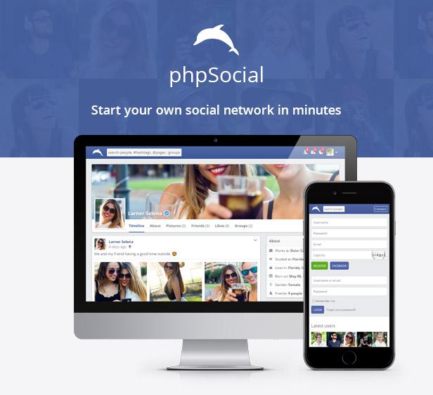 phpSocial - Social Network Platform - 4