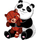 Panda with a Toy - GraphicRiver Item for Sale