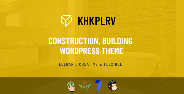 Khkplrv -Construction, Building WordPress Theme