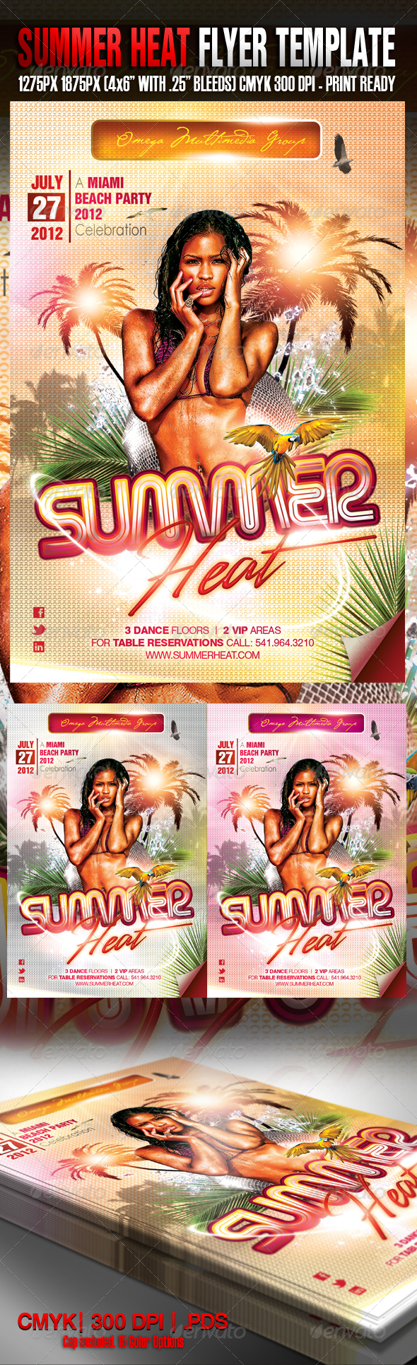 Summer Heat II Party - Clubs & Parties Events