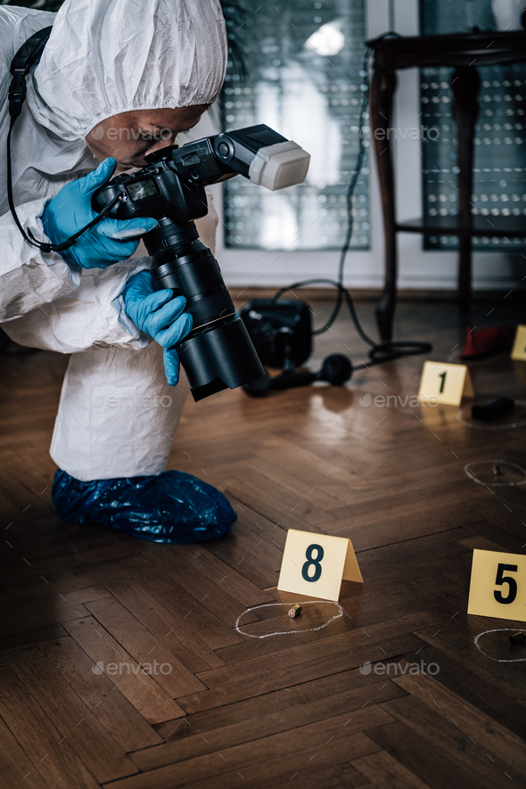 Forensic Science Investigation - Stock Photo - Images