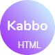 Kabbo - Creative Agency HTML Template - ThemeForest Item for Sale