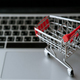 shopping cart on laptop - PhotoDune Item for Sale