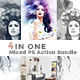 4 in One Mixed PS Action Bundle - GraphicRiver Item for Sale