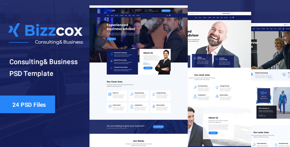 Bizzcox - Business Consulting Template