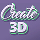 3D Text Effect - GraphicRiver Item for Sale