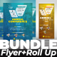 Bundle Conference (Flyer+Roll Up banner - GraphicRiver Item for Sale