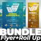 Bundle Conference (Flyer+Roll Up banner - GraphicRiver Item for Sale