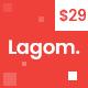 Lagom - Multi Concept MultiPurpose WordPress Theme - ThemeForest Item for Sale