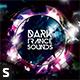 Dark Trance Sounds CD Album Artwork - GraphicRiver Item for Sale