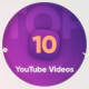 Top 10 Youtube videos - VideoHive Item for Sale