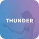 Thunder - Creative PSD Template - ThemeForest Item for Sale