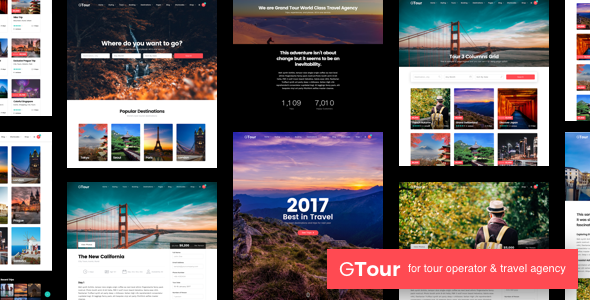 Grand Tour | Tour Travel WordPress for Travel and Tour