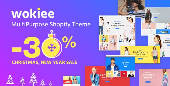 Wokiee - Multipurpose Shopify Theme - Fashion Shopify