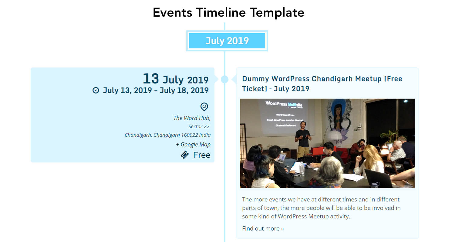 the events calendar shortcode and templates pro wordpress plugin