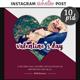 Valentine Instagram Post Template - GraphicRiver Item for Sale