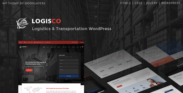 Logisco - Logistics & Transportation WordPress Theme