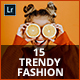 15 Trendy Fashion Lightroom Presets - GraphicRiver Item for Sale