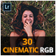 30 Cinematic RGB Lightroom Presets - GraphicRiver Item for Sale