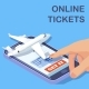 Airline Online Tickets Mobile App Isometric Vector - GraphicRiver Item for Sale